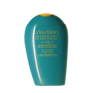 Sun Protection Lotion SPF15 - Shiseido, SPF 30 & Less