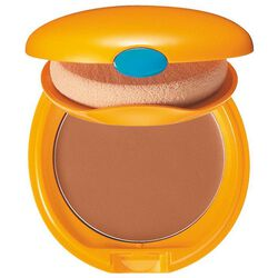 Tanning Compact Foundation SPF6, BRONZE - Shiseido, Makeup With UV Protection