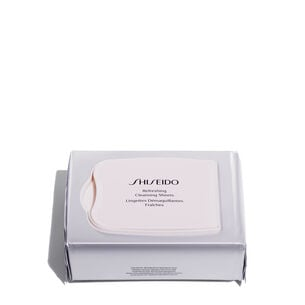 Refreshing Cleansing Sheets - Shiseido, Cleansers & Makeup Removers