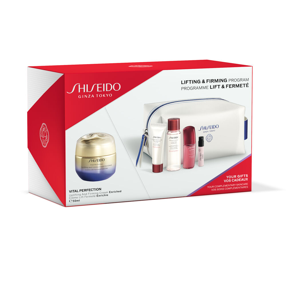 Lifting & Firming Program Pouch Set - Uplifting And Firming Cream Enriched,
