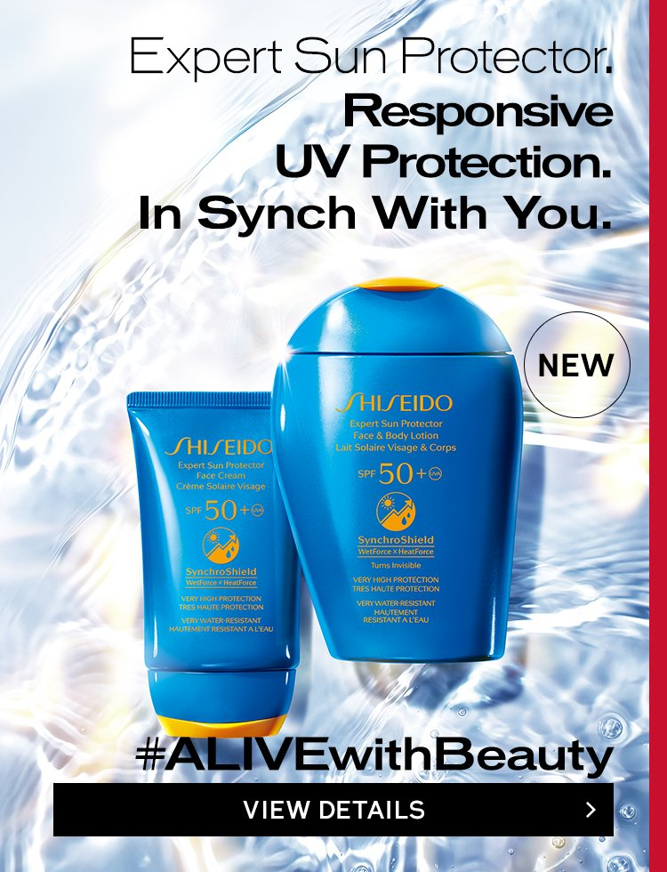 Invisible. Invincible. In Sync With You.Expert Sun Protector Face & Body Lotion and Face Cream VIEW DETAILS